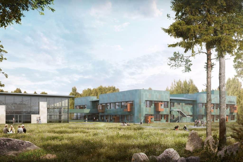 Arkitekt förskola Osby