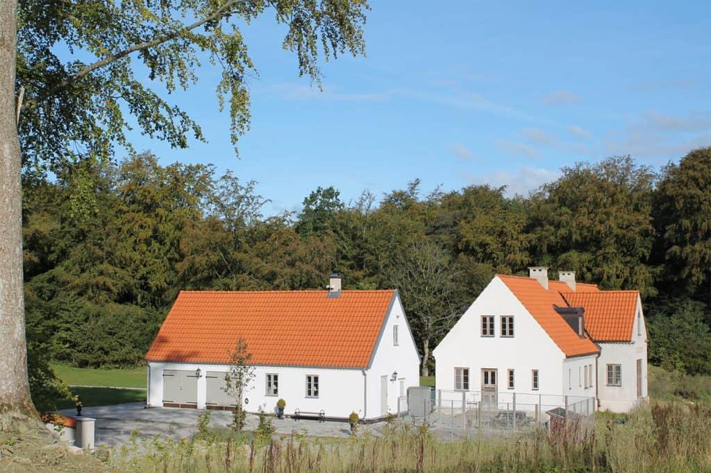Arkitekt Nybyggnad villa Trelleborg Lund Höganäs