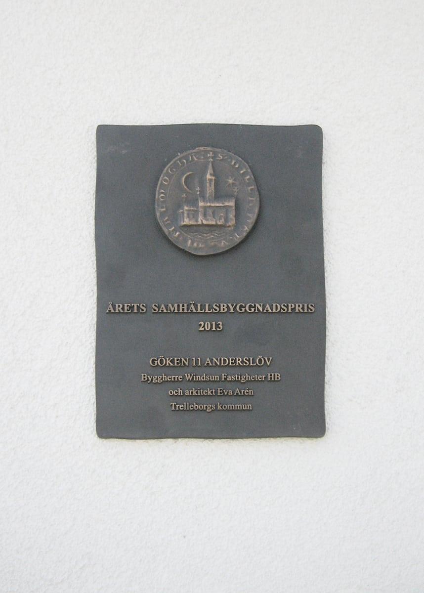 Samhällsbyggnadspris Trelleborg