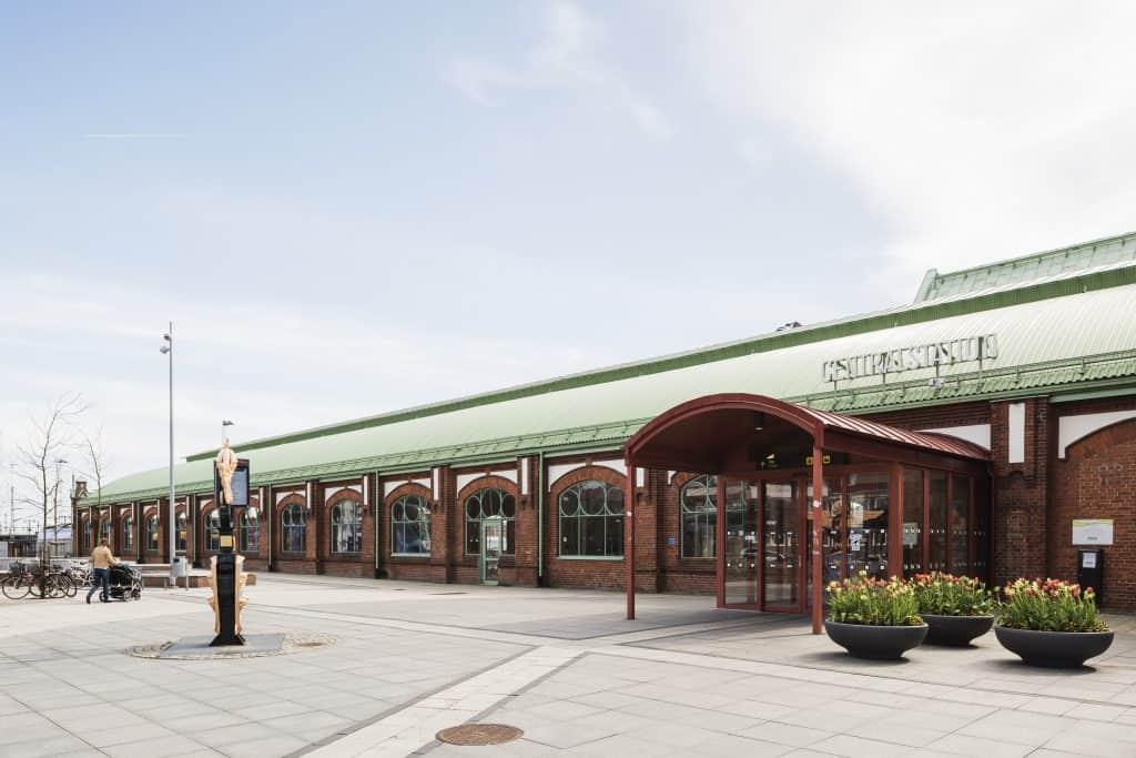 Arkitekt Banhall Trelleborg Centralstation