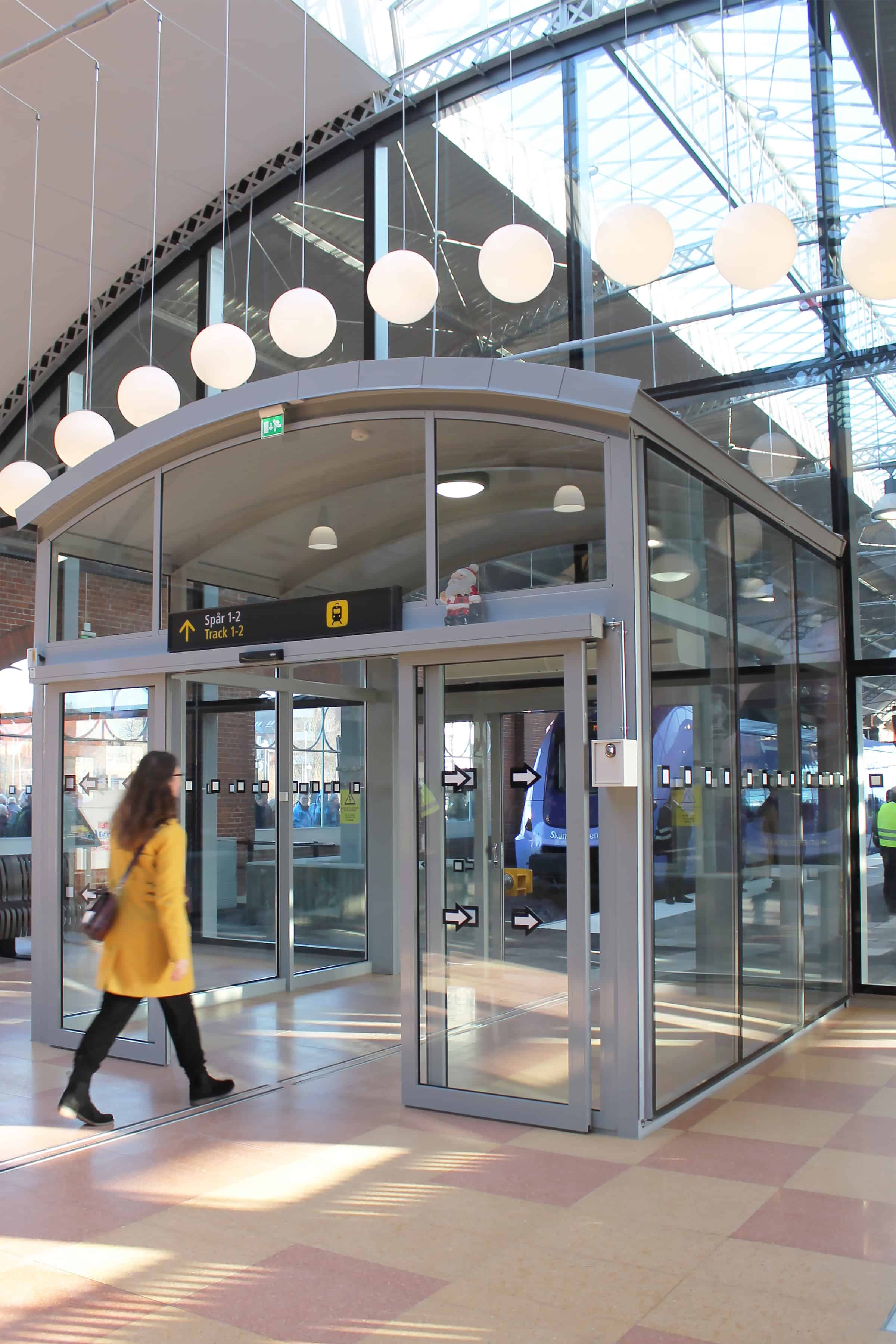 Banhall Trelleborg Centralstation